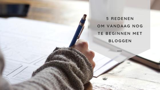 5 redenen om vandaag nog te beginnen met bloggen voor je bedrijf